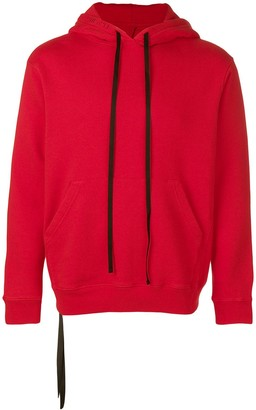 Unravel Project tie knot hoodie