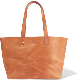 Clare V - Suki Supreme Leather Tote - Tan $365 thestylecure.com