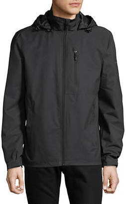 Perry Ellis Stretch Hooded Jacket