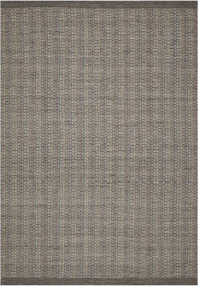 Scandinavian Network Grey Costa Pure Wool Style Rug