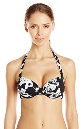 Lark & Ro Swimwear Push-Up Underwire Bikini Top