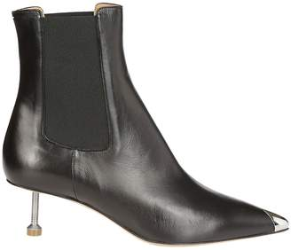 Maison Margiela Screw Kitten Heel Boots