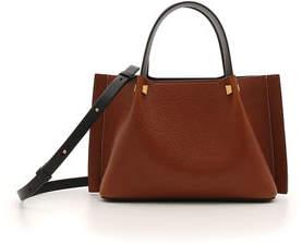 Valentino VLOGO Escape Small Lamb Leather Tote Bag