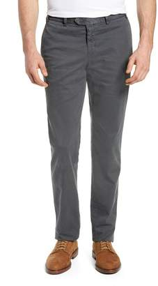Hiltl Pero Trim Fit Flat Front Chino Trousers