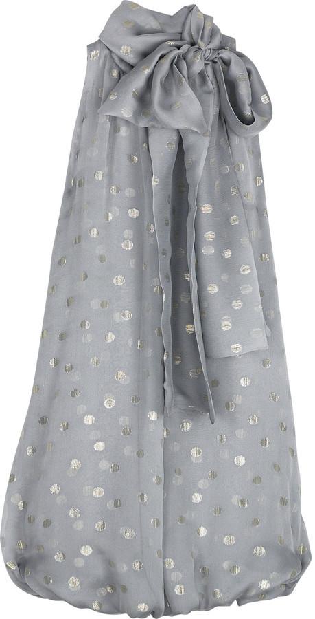 Jay Ahr Spotty mini dress
