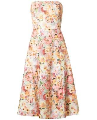 Ted Baker Midi Full Printed Lace Dress