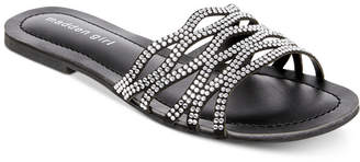 Madden-Girl Sunday Rhinestone Slides