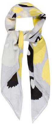 Diane von Furstenberg Printed Silk Scarf w/ Tags $85 thestylecure.com
