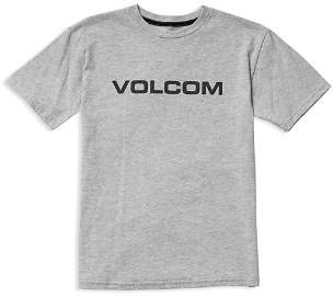 Volcom Boys' Logo Tee - Big Kid