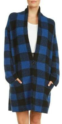 Dex Check Sweater Coat