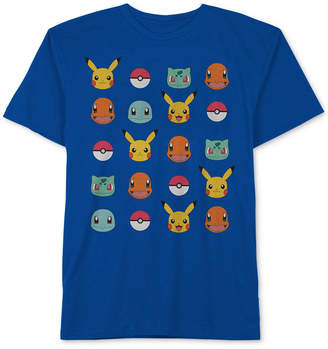 Pokemon Big Boys Graphic-Print Cotton T-Shirt