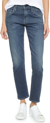 Citizens of Humanity Emerson Slim Boyfriend Ankle Jeans $168 thestylecure.com