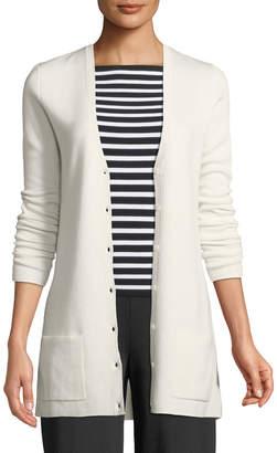 Michael Kors Cashmere Button-Front Cardigan