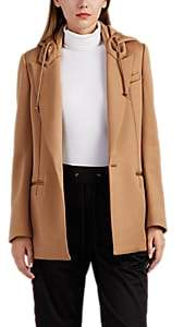 Undercover Women's Hooded One-Button Blazer - Camel