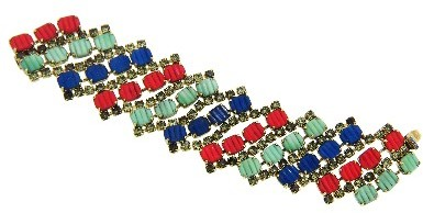 Other Designers Valais Bracelet with Crystals
