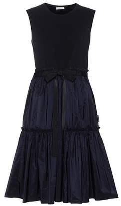 Moncler Sleeveless cotton-blend dress