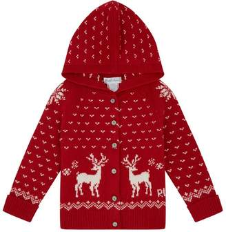 Polo Ralph Lauren Reindeer Hooded Cardigan