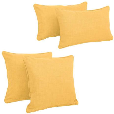 Zipcode Design Juliet 4 Piece Outdoor Throw Pillows Set