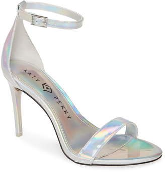Katy Perry Jamie Holographic Ankle Strap Sandal