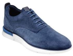 Cole Haan Grand Horizon Round Toe Suede Oxfords