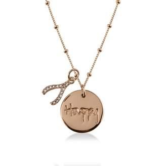 Radley Smile Rose Gold Necklace