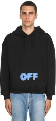 Off-White Off White Blurry Printed Sweatshirt Hoodie