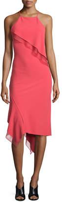 Jason Wu Sleeveless Bias-Ruffle Slip Dress, Berry $1,795 thestylecure.com