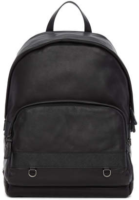 ... get at ssense prada black leather backpack d8291 717cc ee837a05f855a