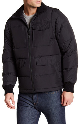 Victorinox Swiss Army Reinbach Dual Function Quilted Vest Jacket $595 thestylecure.com