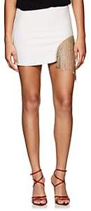 Area Women's Eileen Crystal-Embellished Miniskirt - Cream