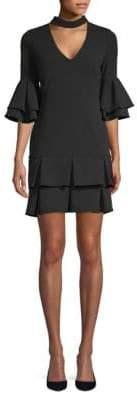 Alexia Admor Ruffle Bell-Sleeve Dress