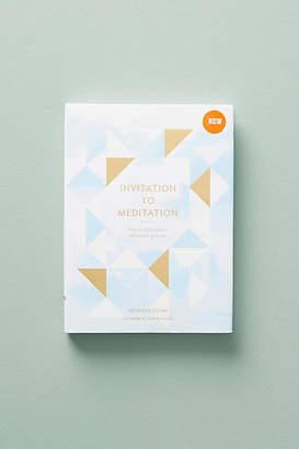 Anthropologie Invitation to Meditation