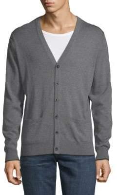 Saks Fifth Avenue Merino Wool Cardigan