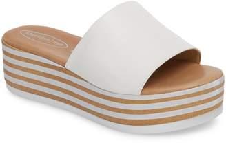 Sheridan Mia Reesa Platform Slide Sandal