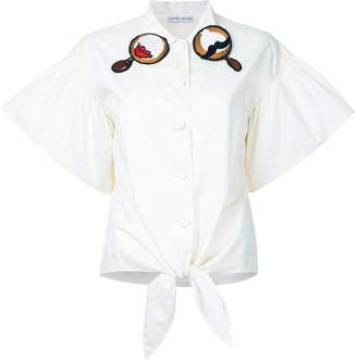 Tsumori Chisato embroidered collar shirt