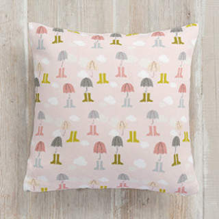 Umbrella Land Square Pillow