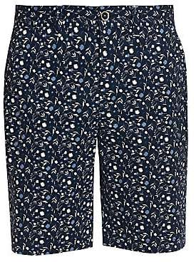 Robert Graham Men's Gunnar Floral Stretch-Cotton Shorts