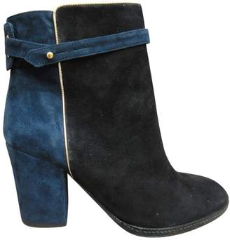 Paul & Joe Blue Suede Ankle boots