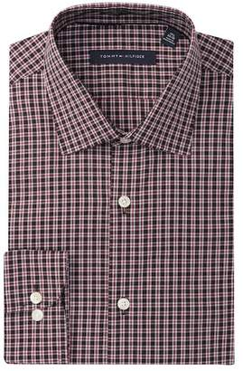 Tommy Hilfiger Plaid Slim Fit Dress Shirt
