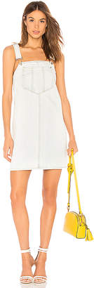 7 For All Mankind Dungaree Dress.