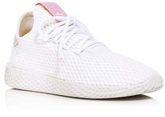 adidas x Pharrell Williams Women's Tennis Hu Lace Up Sneakers