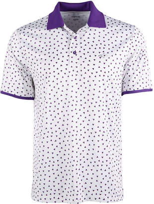 Greg Norman Attack Life by Men Printed Polo
