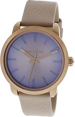 Diesel Women's 'Flare Degrade' Quartz Stainless Steel and Leather Casual Watch