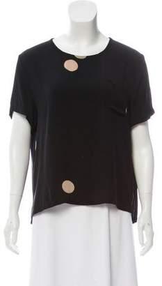 Creatures of Comfort Silk Short Sleeve Top