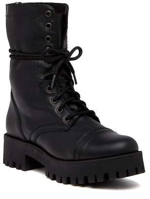Steve Madden Olly Lace-Up Leather Boot