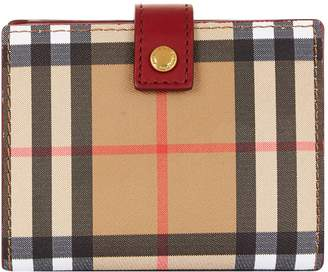 Burberry Lakeside House Check Wallet