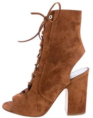 Laurence Dacade Suede Nelly Sandals