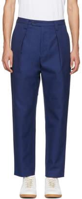 Acne Studios Blue Ayran Trousers