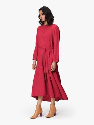 XiRENA Eliot Chelsea Gauze Dress - Red Berry