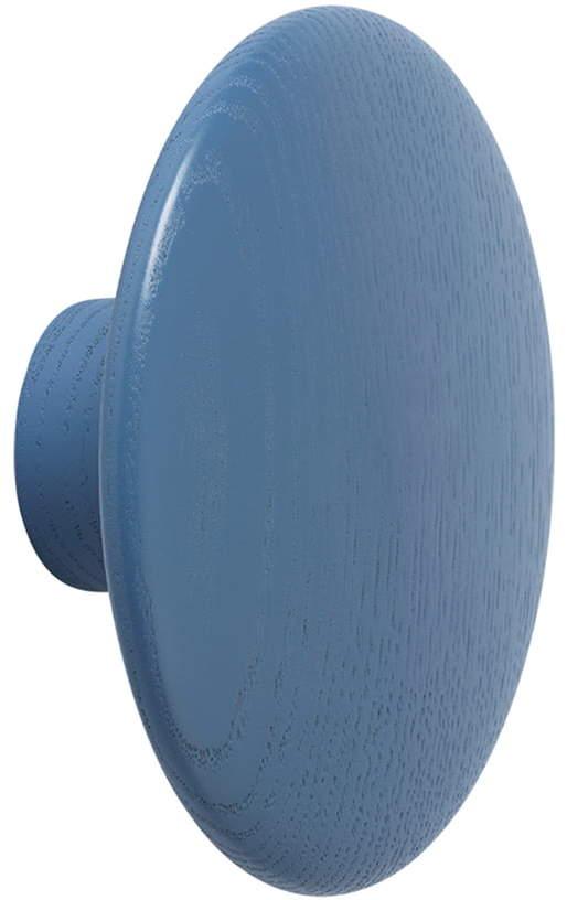 Muuto - Wandhaken ́ ́The Dots ́ ́ single medium, pale blue